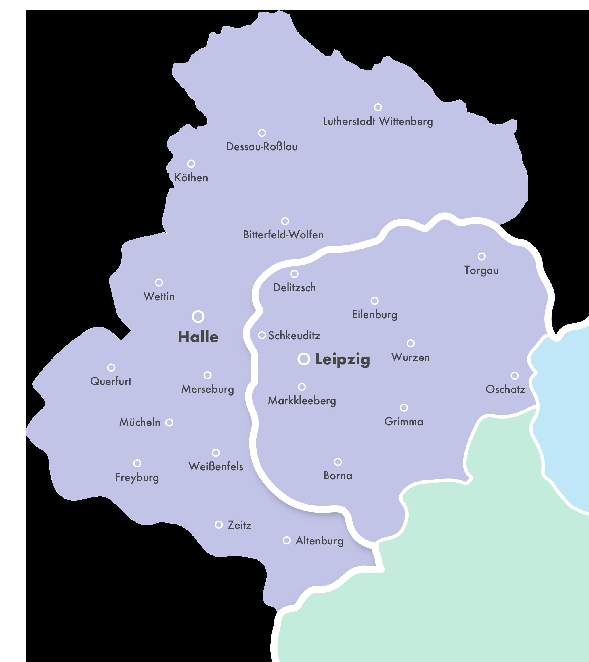 Leipzig Karte Sachsen.Dein Azubiticket Deine Freiraum Flatrate In